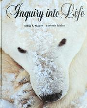 Cover of: Inquiry into Life by Sylvia S. Mader