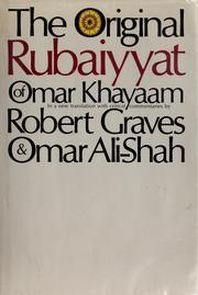 Cover of: Rubāʻīyāt by Omar Khayyam