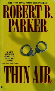 Cover of: Thin air by Robert B. Parker