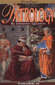 Cover of: Patrology by Quasten, Johannes
