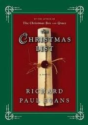 Cover of: The Christmas list by Richard Paul Evans