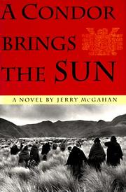 Cover of: A condor brings the sun by Jerry McGahan