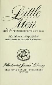 Cover of: Little men by Louisa May Alcott