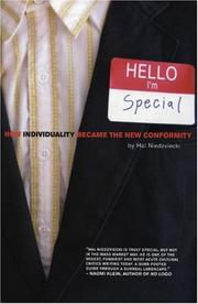 Cover of: Hello, I'm special by Hal Niedzviecki
