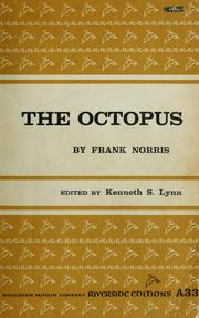 Cover of: The octopus by Frank Norris