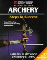 Cover of: Archery by Kathleen Haywood