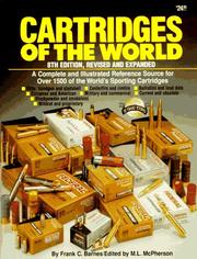 Cover of: Cartridges of the world by Frank C. Barnes