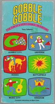 Cover of: Gobble Gobble by Tony 'Anthony' Tallarico