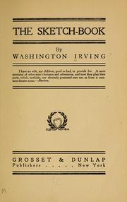 Cover of: The Sketch Book by Washington Irving