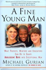Cover of: A Fine Young Man by Michael Gurian