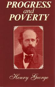 Cover of: Progress and poverty by George, Henry