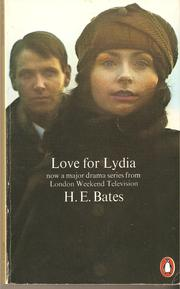 Cover of: Love for Lydia by H. E. Bates