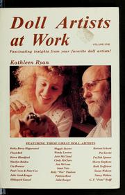 Cover of: Doll Artists at Work (Doll Artists at Work) by Kathleen Ryan