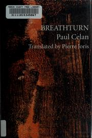 Cover of: Breathturn by Paul Celan