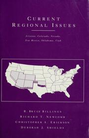 Current Regional Issues - Arizona, Colorado, Nevada Dryden