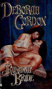 Cover of: Runaway Bride (An Avon Romantic Treasure) by Deborah Gordon