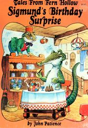 Cover of: Sigmund's Birthday Surprise by John Patience