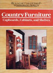Cover of: Country furniture by Nick Engler
