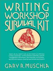 Cover of: Writing Workshop Survival Kit (J-B Ed:Survival Guides) by Gary Robert Muschla