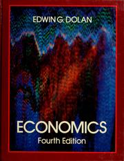 Cover of: Economics by Edwin G. Dolan