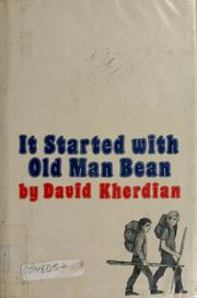 Cover of: It started with old man Bean by David Kherdian