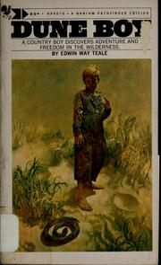 Cover of: Dune boy by Edwin Way Teale