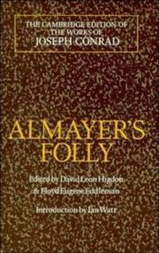 Cover of: Almayer&#39;s folly by Joseph Conrad