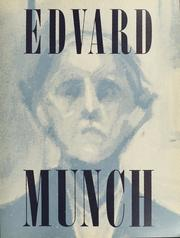 Cover of: Edvard Munch by Edvard Munch