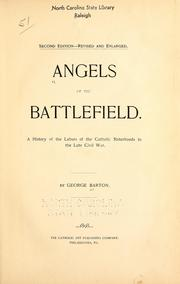 Cover of: Angels of the battlefield by Barton, George