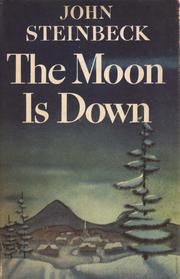 Cover of the moon is down by john steinbeck