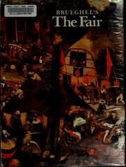 Cover of: Pieter Brueghel&#39;s The fair by Ruth Craft