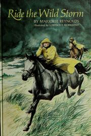 Cover of: Ride the wild storm by Marjorie Reynolds