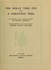 Cover of: The Holly tree inn, and A Christmas tree by Nancy Holder