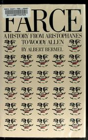 Cover of: Farce by Albert Bermel