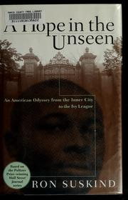 Cover of: A hope in the unseen by Ron Suskind