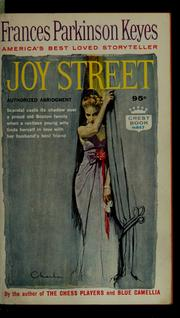 Cover of: Joy Street by Frances Parkinson Keyes