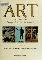 Cover of: Art by Frederick Hartt