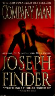 Cover of: Company man by Joseph Finder