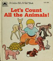 Cover of: Let's count all the animals! by Jim E. Kulas