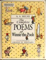 Cover of: The complete poems of Winnie-the-Pooh by A. A. Milne