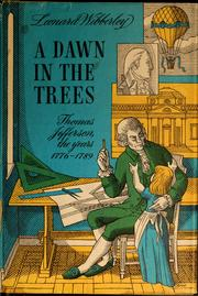 Cover of: A dawn in the trees by Leonard Wibberley