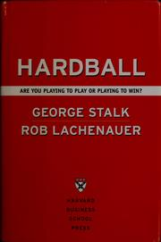 Cover of: Hardball by George Stalk