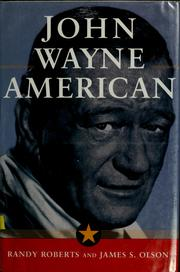 Cover of: John Wayne by Randy Roberts