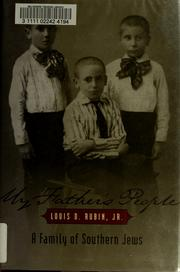 Cover of: My father's people by Louis Decimus Rubin