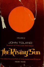 Cover of: The rising sun by John Toland