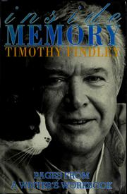 Cover of: Inside memory by Timothy Findley