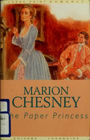 Cover of: The paper princess by Marion Chesney