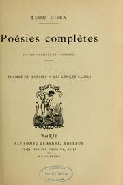 Cover of: Posies compltes by Lon Dierx