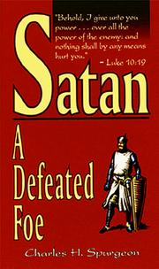 Cover of: Satan by Charles Haddon Spurgeon
