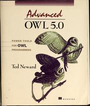 Cover of: Advanced OWL 5.0 by Ted Neward